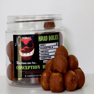 Hard boilies SPICY